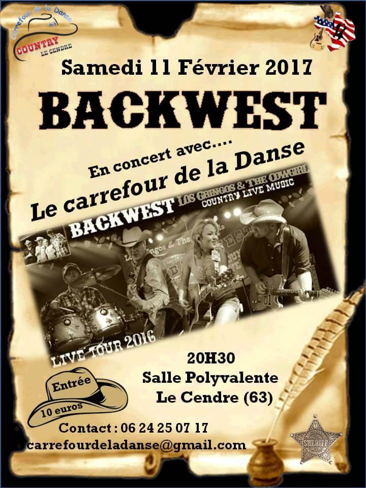 Concert des BACKWEST
