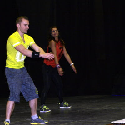 Stages section Zumba février 2015