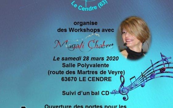 A VOS AGENDAS ! MAGALI CHABRET LE 28 MARS 2020 AU CARREFOUR DE LA DANSE