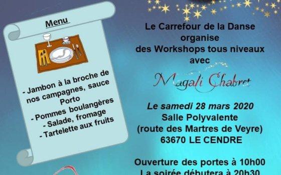 DERNIÈRE LIGNE DROITE !! MAGALI CHABRET – LE 28 MARS –