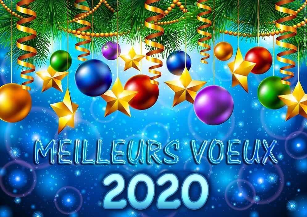 MEILLEURS VŒUX POUR 2020